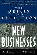 The Origin and Evolution of New Businesses [Pdf/ePub] eBook