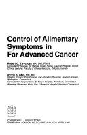 Control of Alimentary Symptoms in Far Advanced Cancer