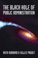 The Black Hole of Public Administration ebook