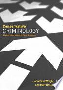 Conservative Criminology
