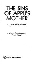 The Sins of Appu's Mother
