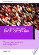 Understanding social citizenship (second edition)