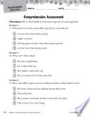 How to Eat Fried Worms Comprehension Assessment