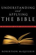 Understanding and Applying the Bible