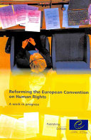 Reforming the European Convention on Human Rights