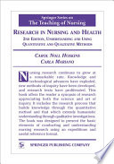 Research In Nursing And Health