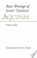 Basic Writings of St  Thomas Aquinas