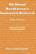 Pdf All about Beethoven's Immortal Beloved (Revised Edition)
