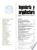 Revista mexicana de ingeniería y arquitectura