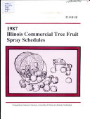 1987 Illinois Commercial Spray Schedules