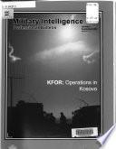 Military Intelligence Professional Bulletin