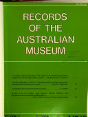 Records Of The Australian Museum