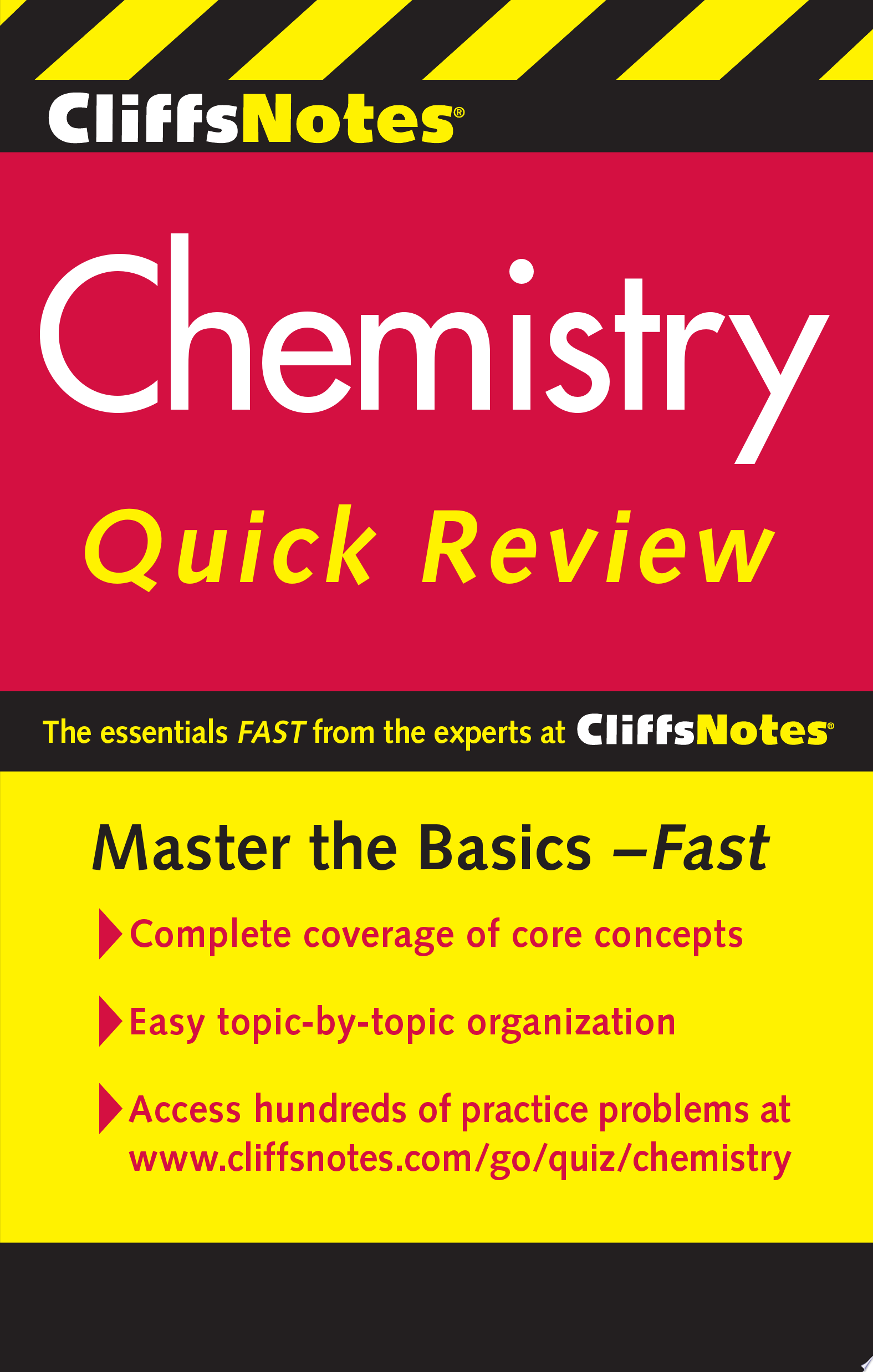 CliffsNotes Chemistry Quick Review  2nd Edition