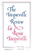 Revue Tocqueville