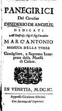 Pdf Panegirici