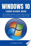 Windows 10 User Guide 2020