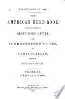 The American Shorthorn Herd Book Book