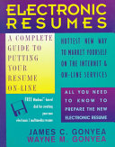Electronic Resumes
