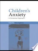 Children s Anxiety