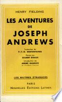 Les Aventures de Joseph Andrews Par Henry Fielding