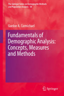 Fundamentals of Demographic Analysis: Concepts, Measures and Methods