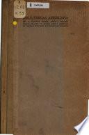 Bibliothecas Americana  1622 1896