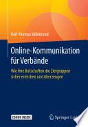 Online-Kommunikation für Verbände