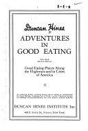 Adventures in Good Eating