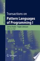 Transactions on Pattern Languages of Programming I