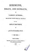 Sermons, Essays, and Extracts, by Various Authors