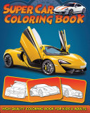 Supercar Coloring Book