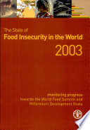 The State Of Food Insecurity In The World 2003