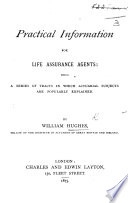 Practical Information for Life Assurance Agents  etc Book