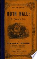Ruth Hall, by Fanny Fern