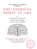 The Pageant Of America The American Spirit In Art By F J Mather Jr C R Morey And W J Henderson Book