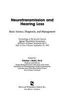 Neurotransmission and Hearing Loss