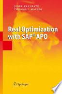 Real Optimization with SAP   APO