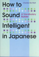 How to Sound Intelligent in Japanese