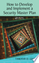 How to Develop and Implement a Security Master Plan Book