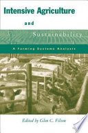 Intensive Agriculture And Sustainability Book PDF