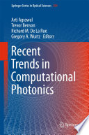Recent Trends in Computational Photonics Book
