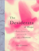 The Desiderata of Hope