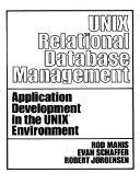 Unix Relational Database Management