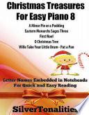 Christmas Treasures For Easy Piano 8