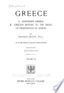 Nations of the World: Grote, G. Greece. 12 v