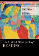 The Oxford Handbook of Reading