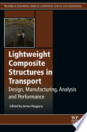 Lightweight Composite Structures In Transport Book PDF