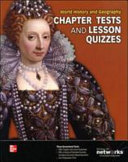 World History And Geography Chapter Tests And Lesson Quizzes 2013 Book