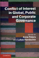 Conflict of Interest in Global  Public and Corporate Governance