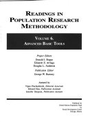 Readings in Population Research Methodology  Advanced basic tools